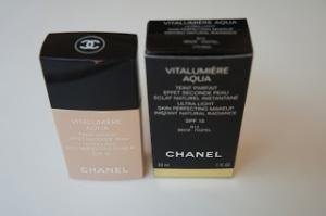 Chanel Vitalumiere Aqua Foundation -  B10 Beige - Pastel
