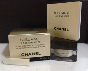Chanel Sublimage Eye Cream Complete Package