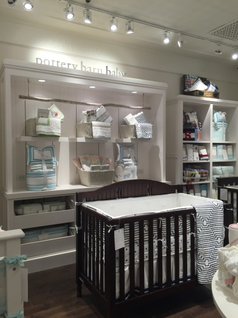 Pottery Barn Baby Section